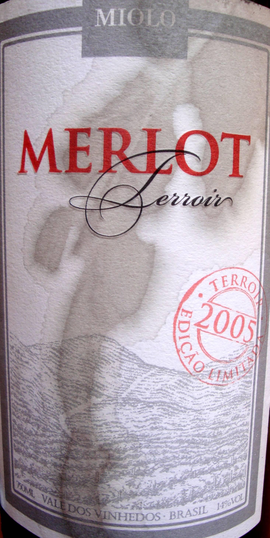 label - Miolo Terroir