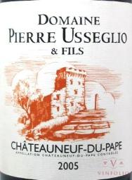 Chateauneuf Pierre Useglio