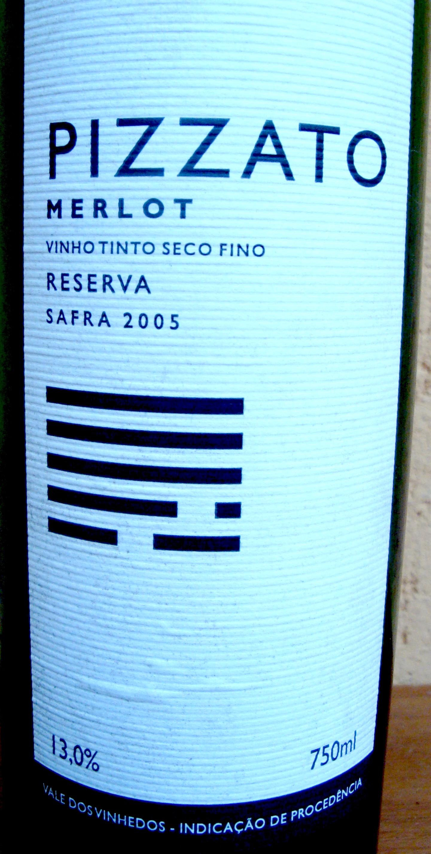 Merlot Reserva Pizzato