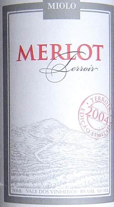 Merlot Terroir