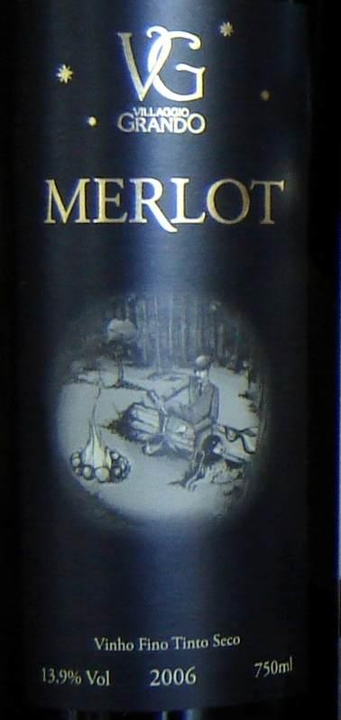 Merlot Villaggio Label