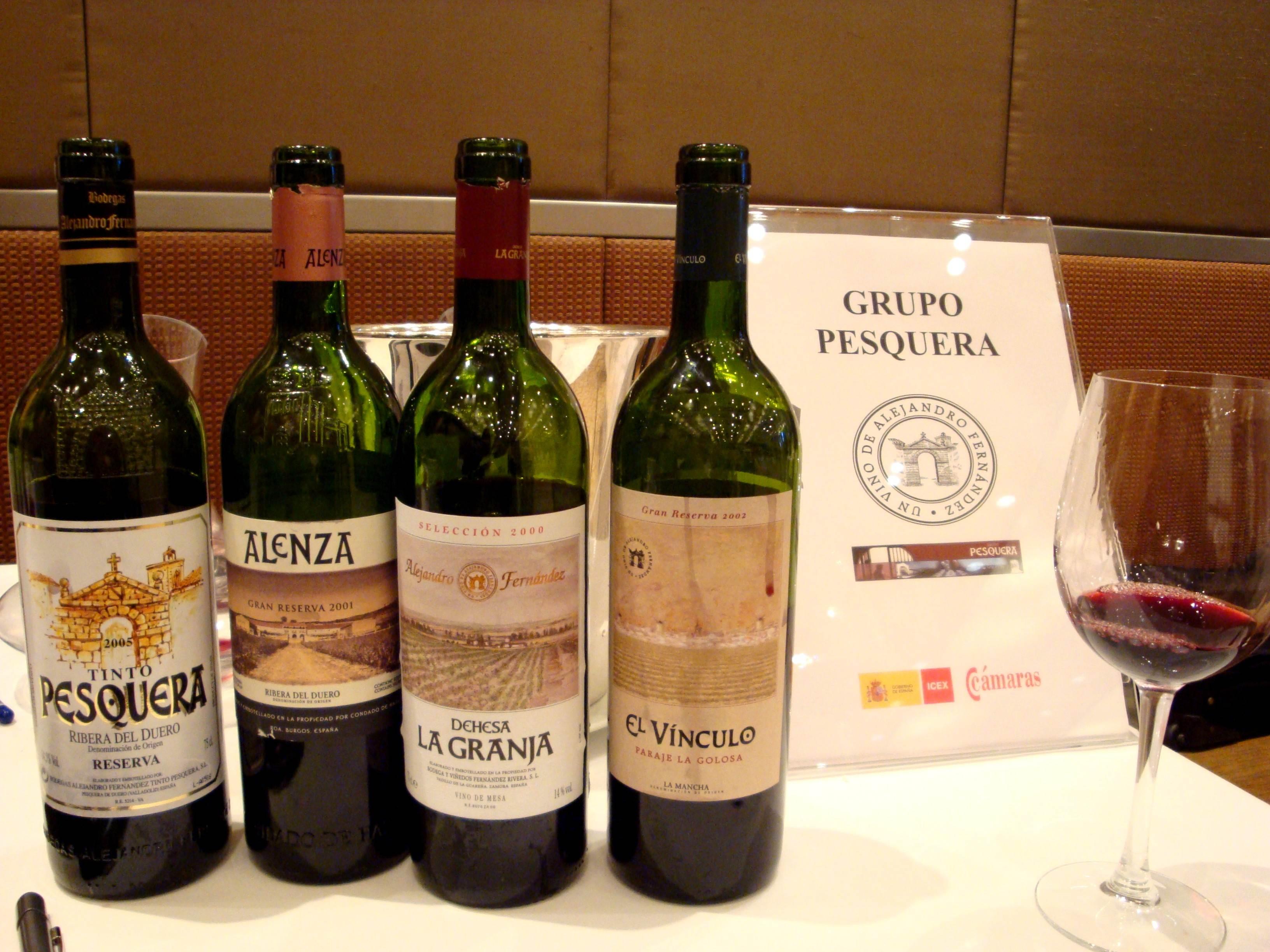 Degustação Wines of Spaimn 001