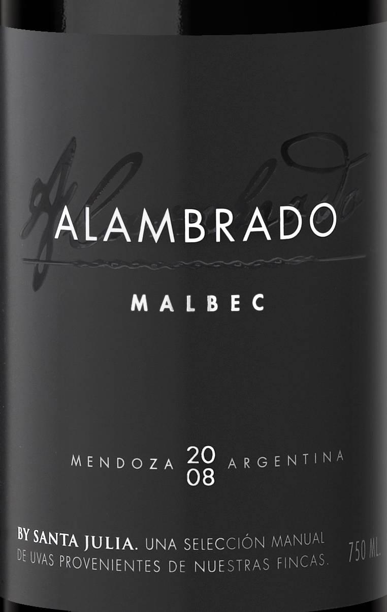 Zuccardi ALAMBRADO malbec 08