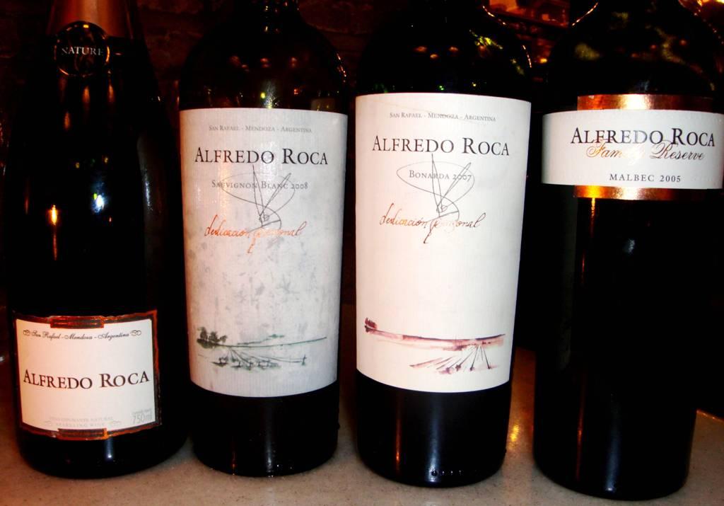 Alfredo Roca garrafas
