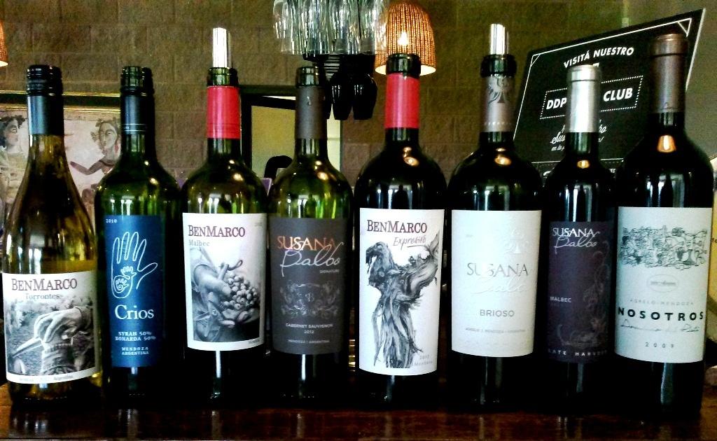Dominio del Plata vinhos bebidos 1
