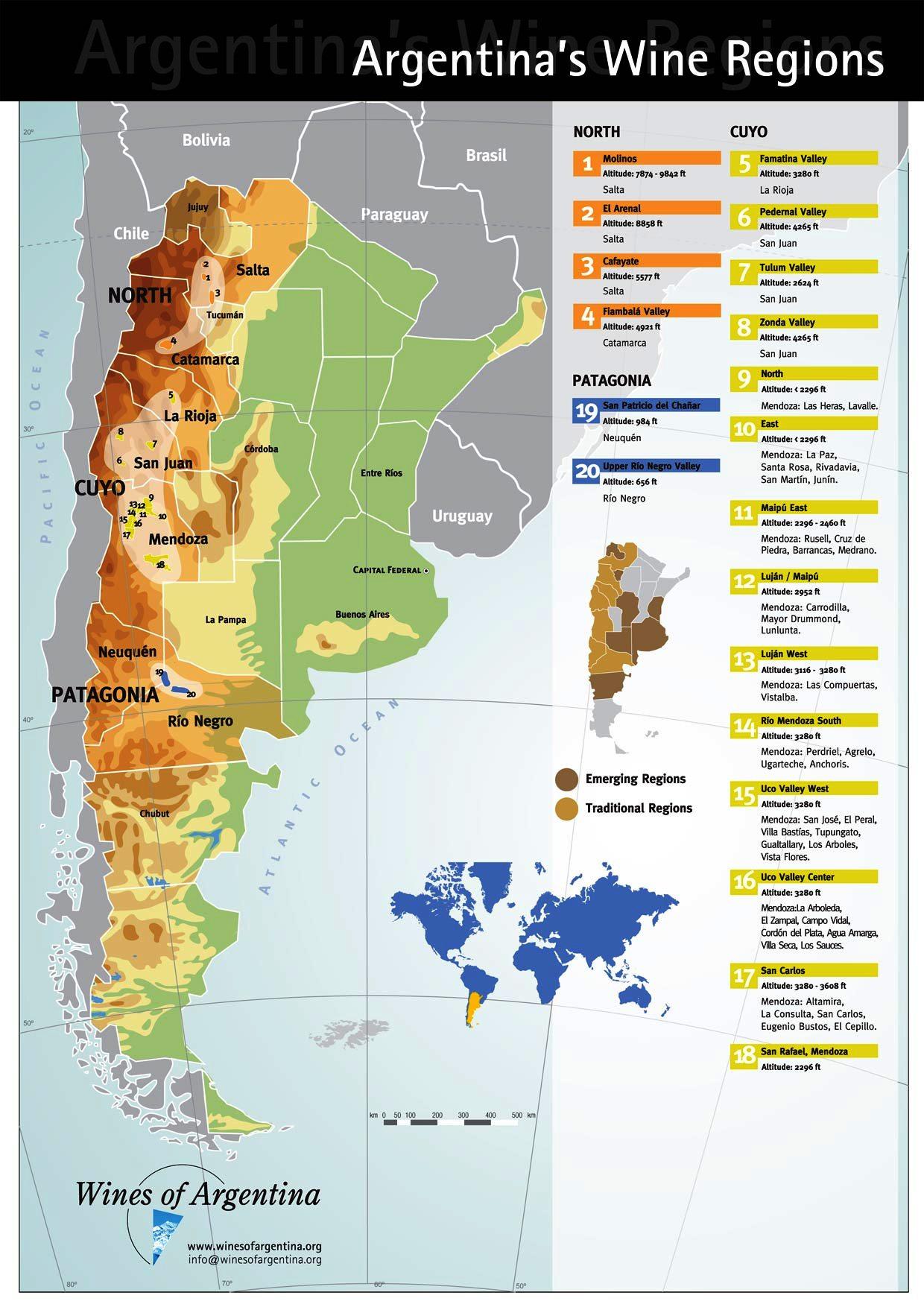 WofA map_english