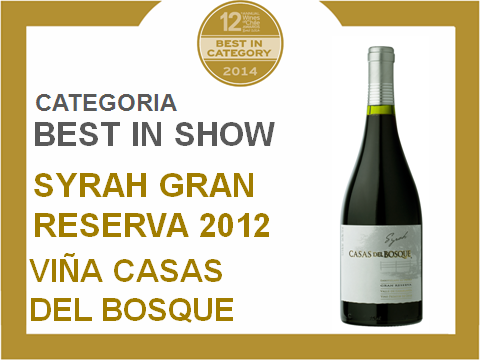 Chile Wine Awards 2014 - best in show