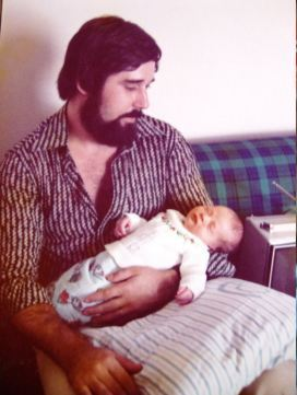 Catia e eu - na maternidade