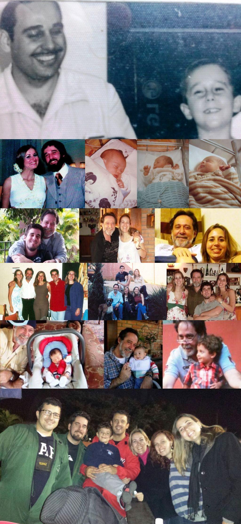 Mosaico dia dos Pais II
