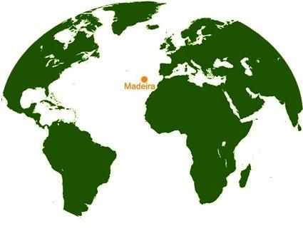 Madeira - localização