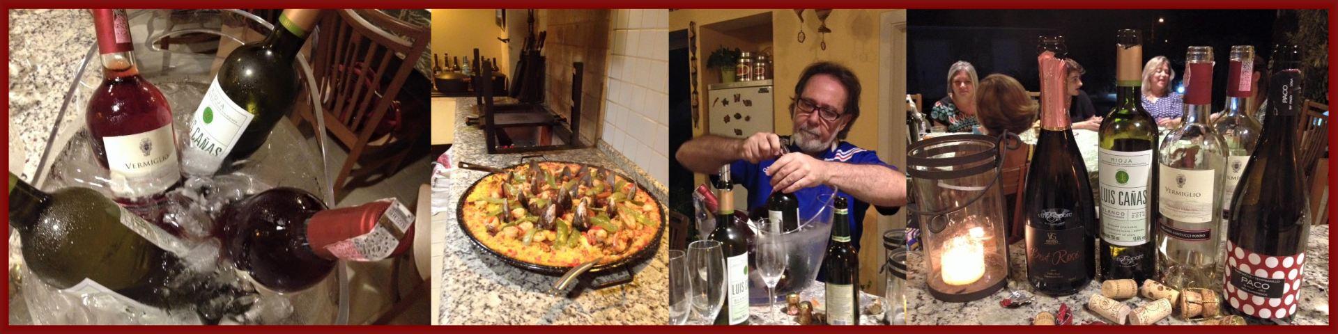 Clipboard Paella y Vino