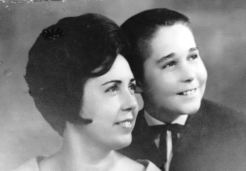 Mãe e eu