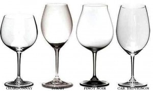 Clipboard Riedel tasting Glasses