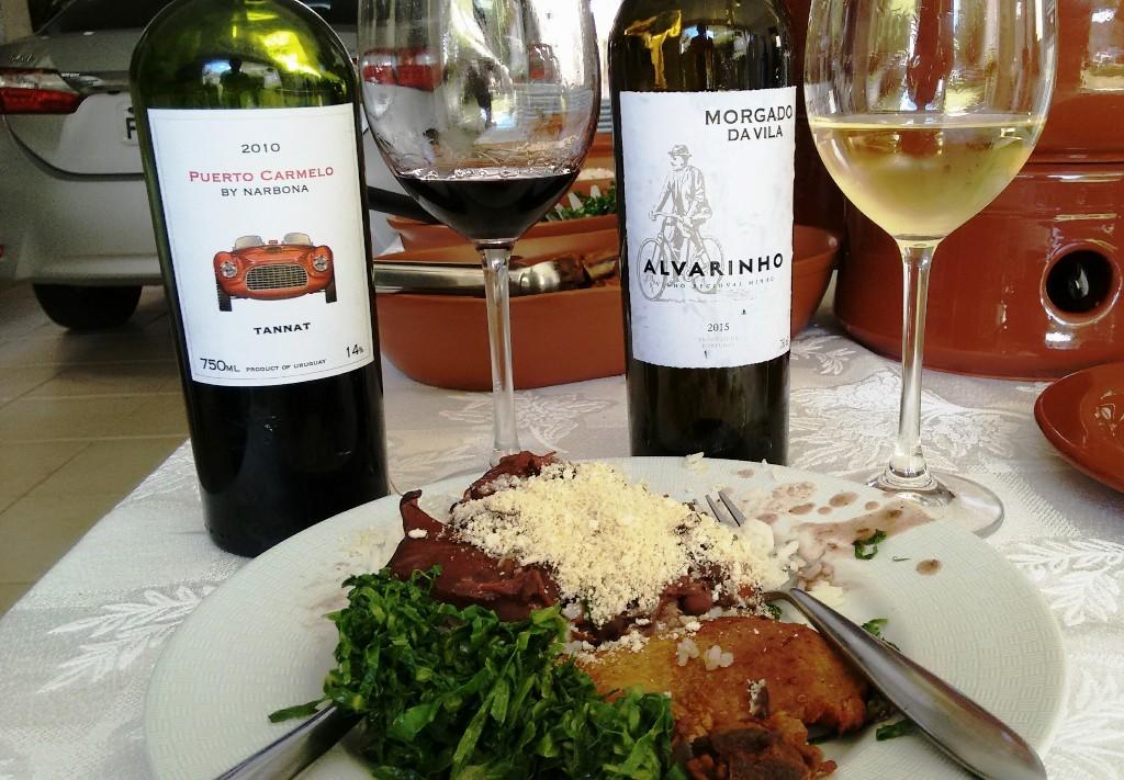 feijoada e vinho - desafio