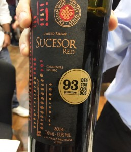 Wines of Chile 2017 - Donoso Sucesor Red