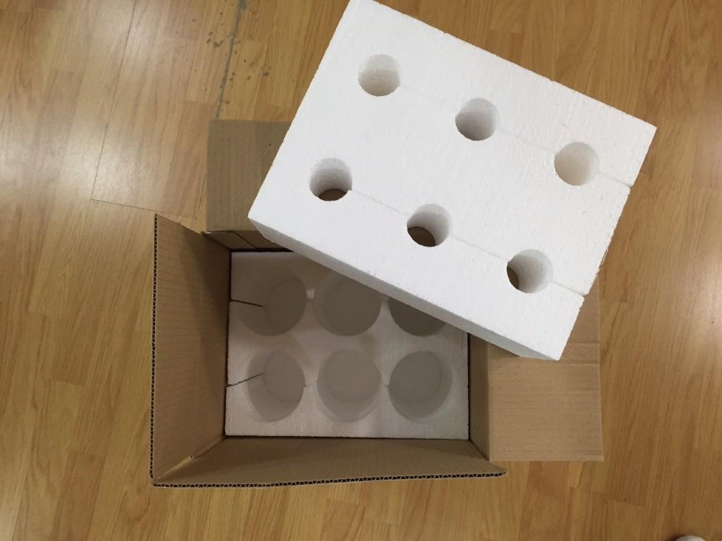 foto caja para envio de vinos