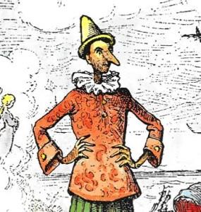 Pinocchio por Enrico Mazzanti